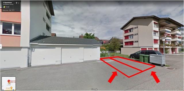 Aussenparkplatz 3 und 4