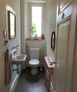 Toilette Hochparterre