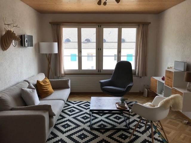 schöne, helle 3,5 Zimmer-Dachwohnung in 3-Familienhaus 26637933