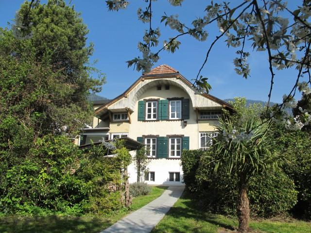 Freistehendes Einfamilienhaus mit Sicht auf Jungfrau und Har 19643406