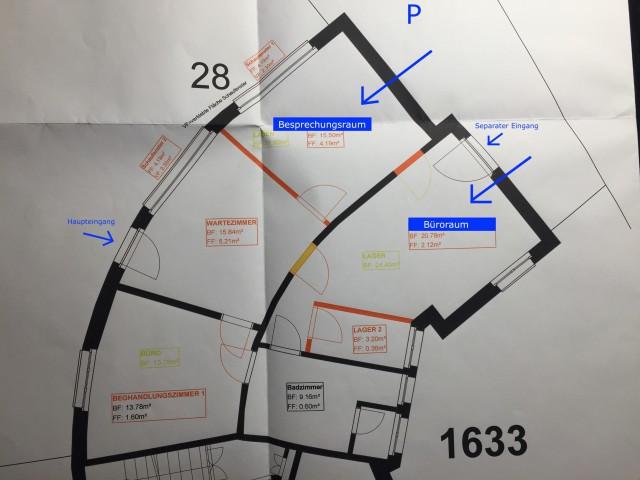 21m2 Büro, auf Wunsch zusätzlicher 15.50m2 Besprechungsraum 32304190