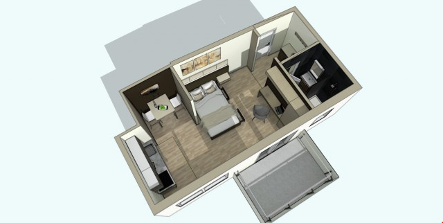 Neu renovierte und möblierte 1.5 Zimmer Wohnung 25201231