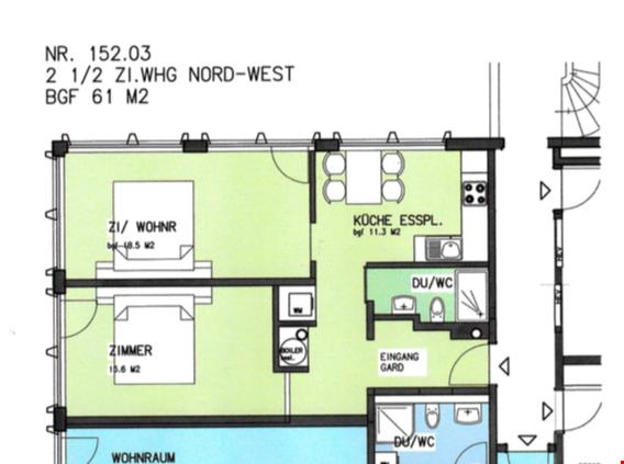 Erstbezug 2.5 Zimmer Wohnung im Zentrum von Brig 28753074