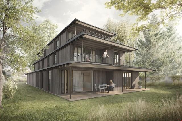 Neubau Mehrfamilienhaus mit 5 Wohnungen in Riehen 20046118