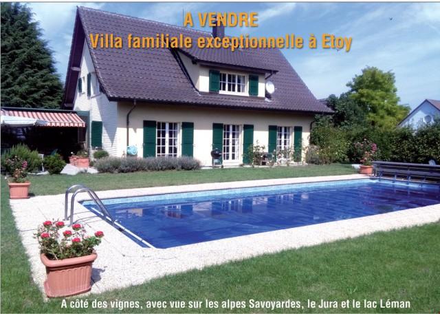 Villa familiale exceptionnelle à Etoy 19669108