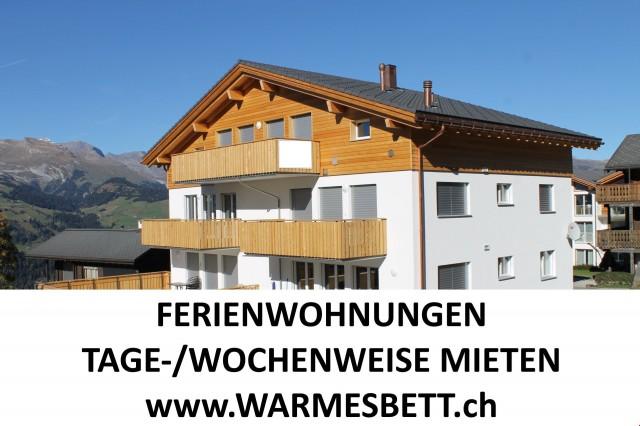 FERIENWOHNUNGEN TAGE-/WOCHENWEISE MIETEN AUF www.WARMESBETT. 12633542