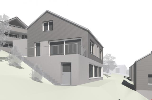 Neubau! Grosszügiges 6.5 Zi-Einfamilienhaus an herrlicher Wo 24985646