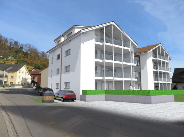 Überbauung Haus Fluor / Attraktive Dachwohnungen an bester L 25461882