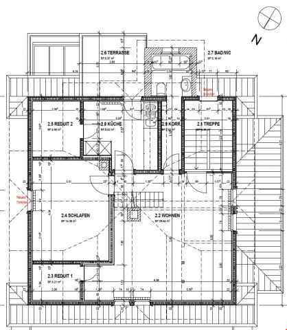 Altbau Dachwohnung Maisonette in Stansstad 27902658