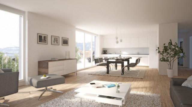 Grosszügige Wohnung mit Alpensicht 21609937