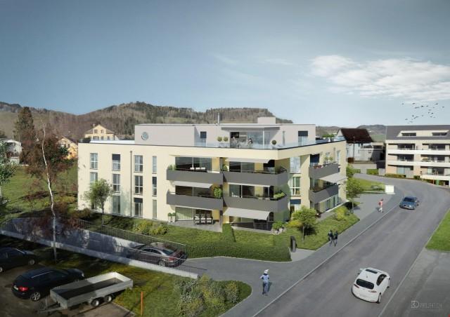 ERSTVERMIETUNG! Topmoderne 2.5 Zimmer Eigentumswohnung mit B 22837374