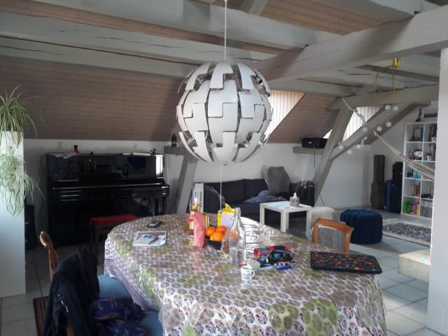 Chambre en colocation dans appartement duplex près du lac, B 23285586