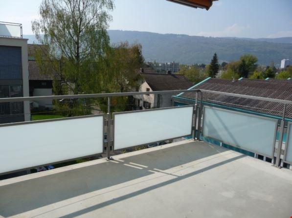 gedeckter Balkon