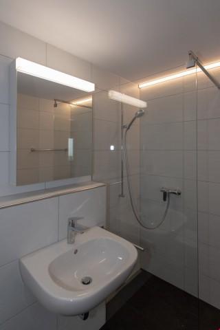 Badzimmer mit Dusche/WC