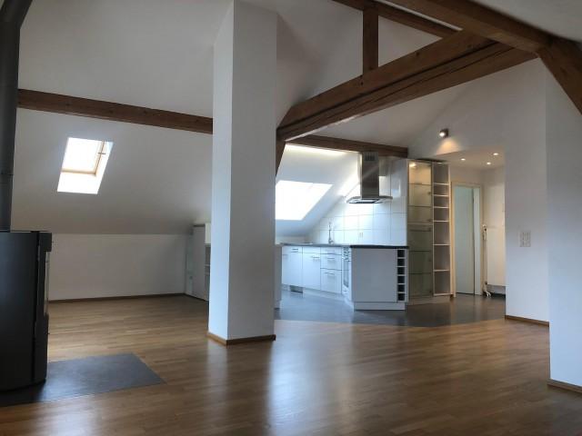 Charmante 3 Zimmer-Dachwohnung mir grosser Terrasse 31519724
