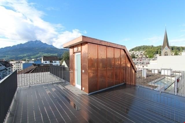 2 1/2 Zi-Wohnung mit exklusiver Dachterrasse zur Alleinbenut 25166436
