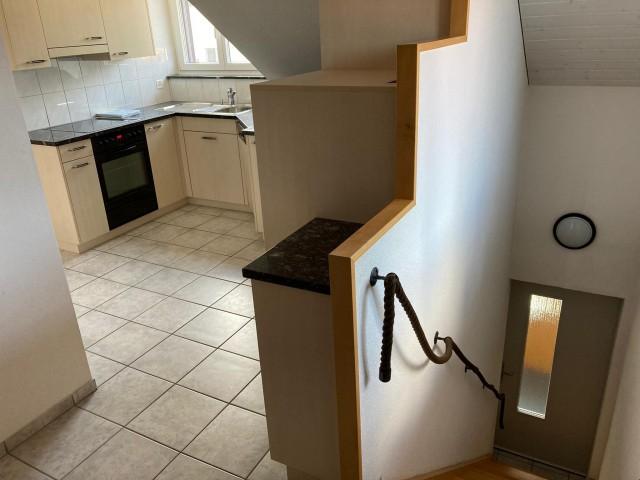 Aufgang Treppe zu Küche