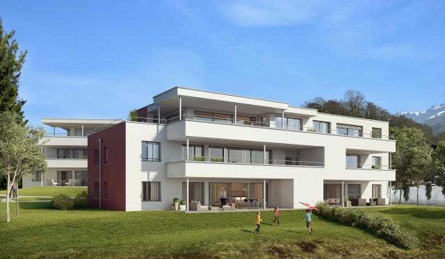 Überbauung am Rappenbach, Schänis 24111679