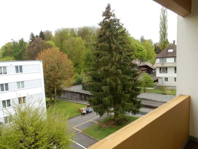 Balkon westsicht