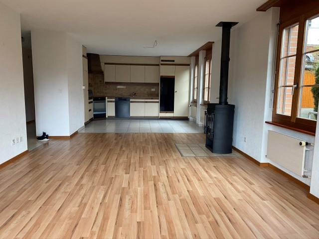 4.5 Zimmer Parterre-Wohnung in umgebautem Bauernhaus in Ober 32778272