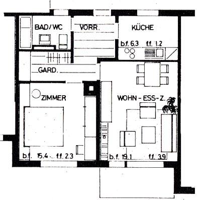 Schöne, sonnige, zentrale 2- Zimmerwohnung... 28775365