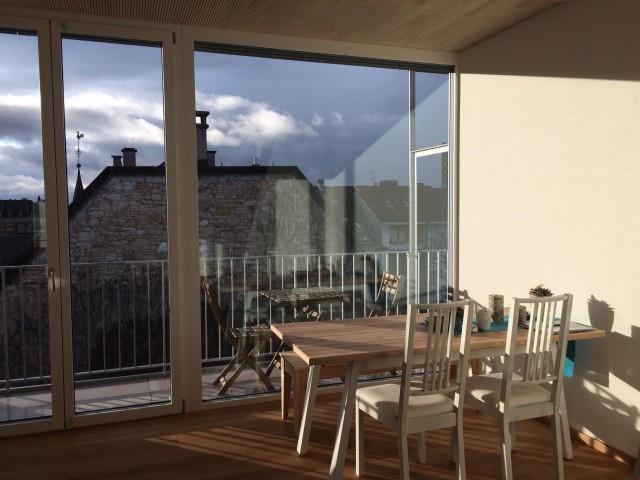 Moderne und helle Wohnung mit Blick über Basel 21239002