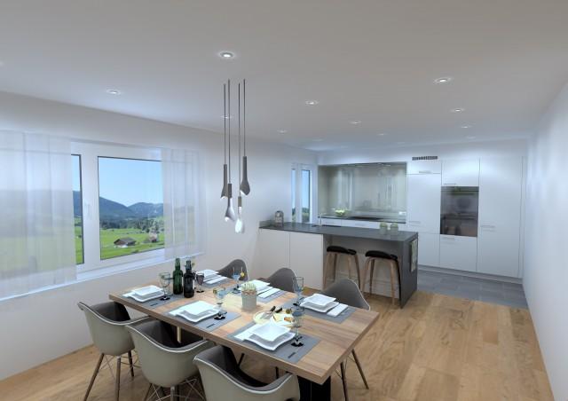 Moderne 3.5 Zimmer-Neubauwohnung an guter Wohnlage! 26020636
