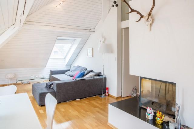 Wunderschöne helle Dachwohnung im zürcher Seefeld 23636190