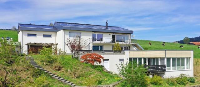 7-Zi Haus m.SolarAnlage,Aussicht,Hallenbad,Schule,bei Grossh 31799949