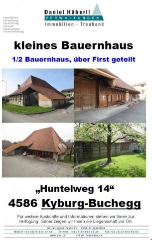 kleines Bauernhaus mit 2 1/2 Zimmerwohnung 19712252