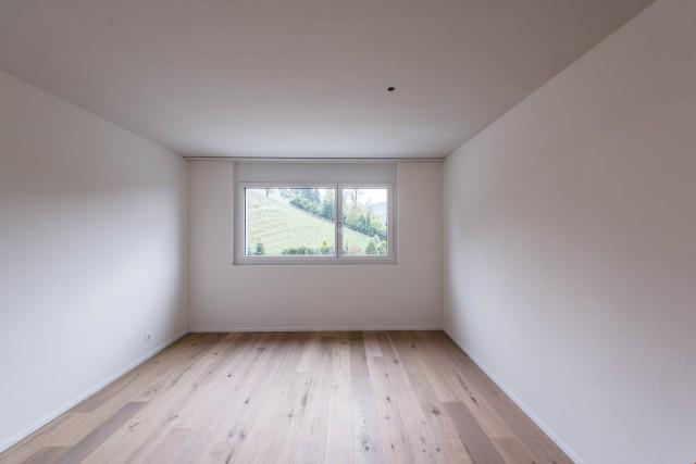 Gästezimmer mit Blick auf den Weinberg