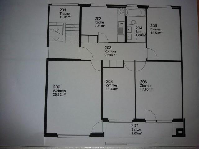 Schöne 4-Zimmer-Wohnung in Fislisbach 19643392