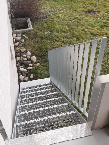 EG Zugang zum Garten Sitzplatz