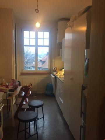 Grosszügige Altbauwohnung mit Wohnküche, Veranda, Fischgratp 23238952