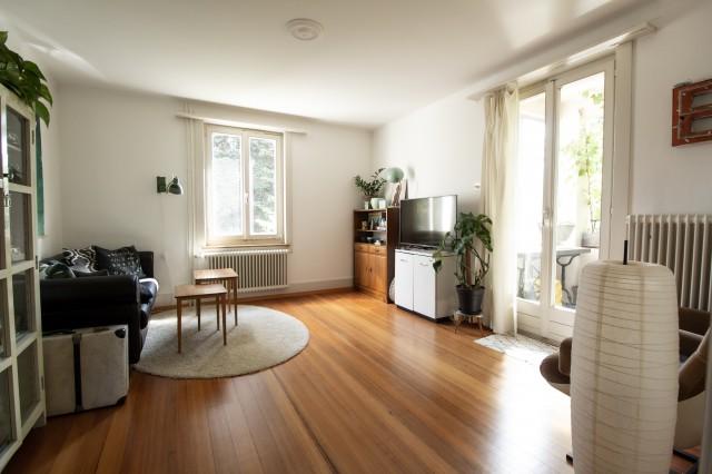 Charmante Altbauwohnung in Zweifamilienhaus mit grossem Gart 30370502