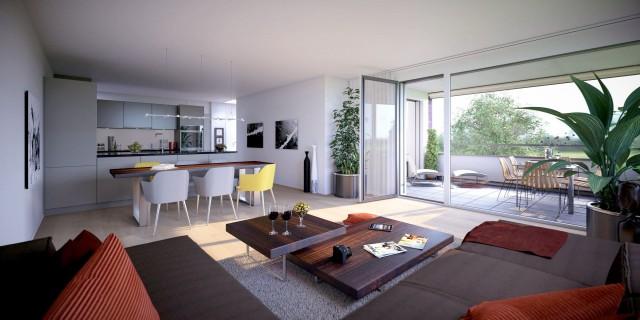 Grosszügige Neubauwohnung in Burgdorf 22041517
