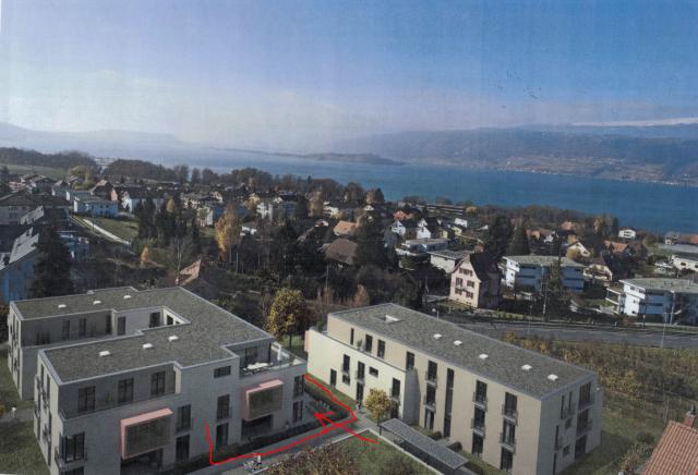 3.5 Zimmer-Erdgeschoss-Terrassenwohnung / Erstbezug 32277422
