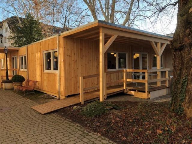 Holz Elementbau, Grundmass 4.8 x 6.0 m, Garage, Werkstatt, e 29712571