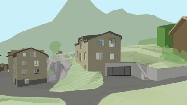 Bewilligtes Einfamilienhaus-Projekt 26679571