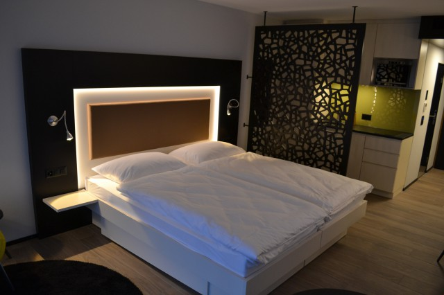 Apartment Stanserhorn, Doppelzimmer mit zwei Betten