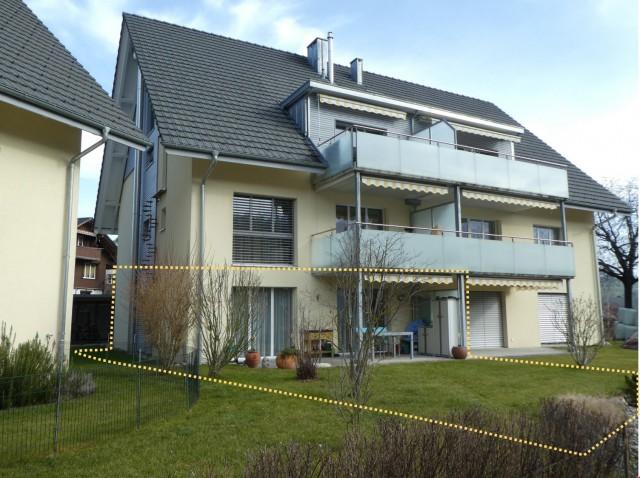 Moderne, helle 3.5 Zimmer Garten-Wohnung 32403242