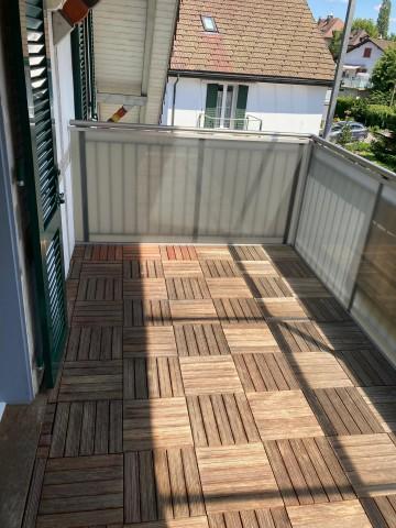 Balkon, überdacht