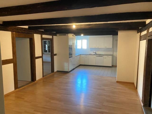 Eingangsbereich, Empfang, Küche- und Essbereich