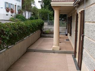Gartensitzplatz direkt zur Küche