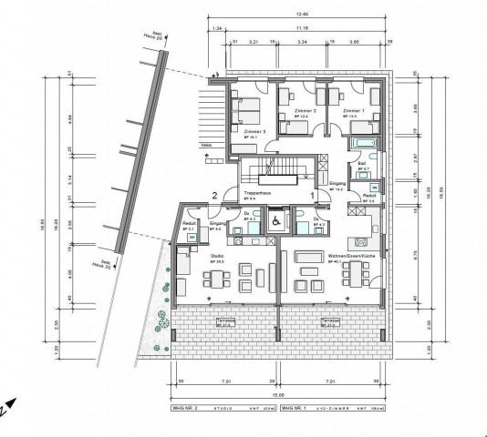Studiowohnung mit Terrasse (Neubau) 32368060
