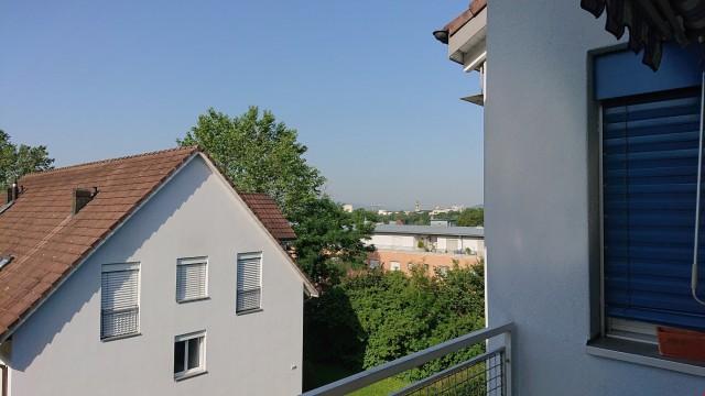 Ausblick Südseite von Terrasse