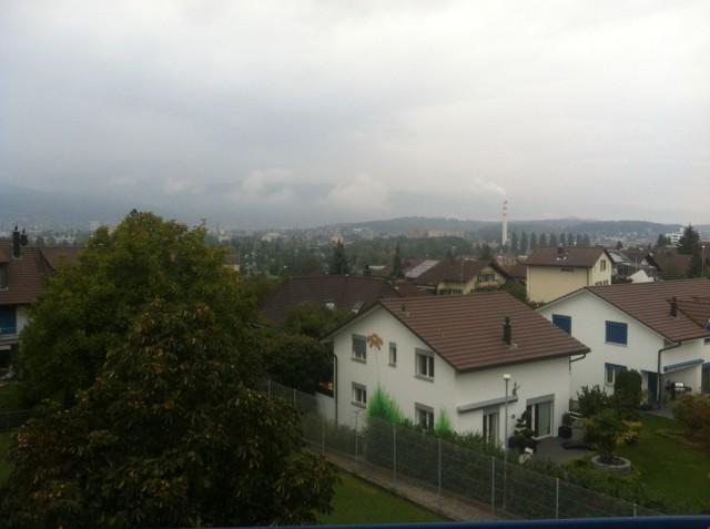 Sicht auf die Stadt Biel