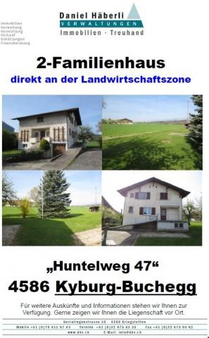 2-Familienhaus an der Landwirtschaftszone 19712251