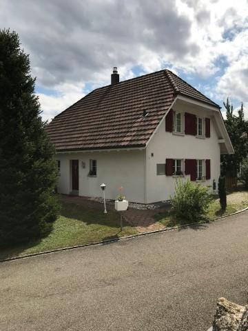 Freistehendes Einfamilienhaus an ruhiger Lage mit Aussicht 25474354