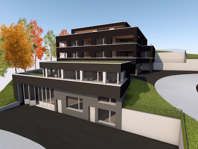 5 1/2-Zimmer Neubauwohnung an erhöhter Lage mit Seesicht zu  25499161